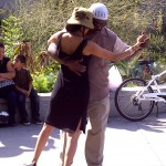 Nancy and Harry dance tango