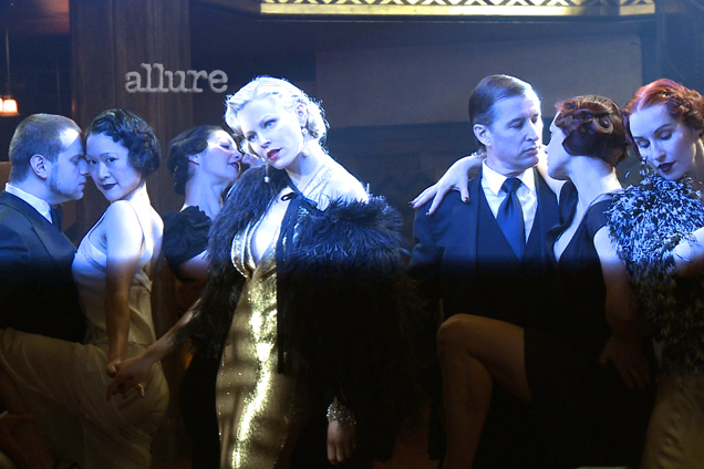 Allure photo shoot with Elizabeth Banks and Los Angeles Tangueros