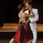 Victor Barrios and Cristina Benavidez of Rosario Argentina, Paiva style tango dancers and teachers